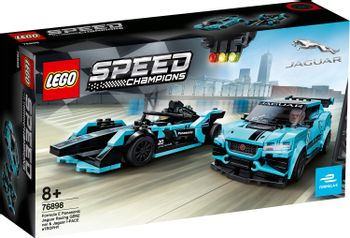 LEGO Speed Champions - Formula E Panasonic Jaguar Racing GEN2 car & Jaguar I-PACE eTROPHY (76898)