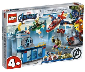 LEGO Super Heroes - Avengers Wrath of Loki (76152)