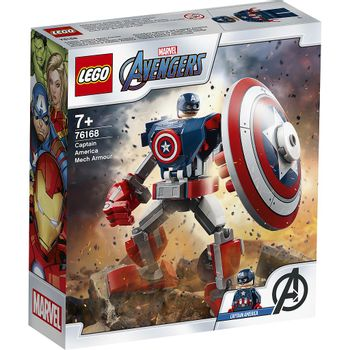 LEGO Super Heroes - Captain America Mech Armour (76168)
