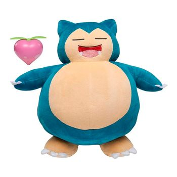 Pokemon - Snooze Action Snorlax Plush