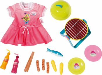 Baby Born - Play and Fun Grill Set