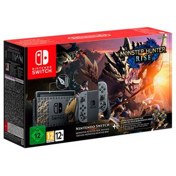 Nintendo Switch - Monster Hunter Rise Edition