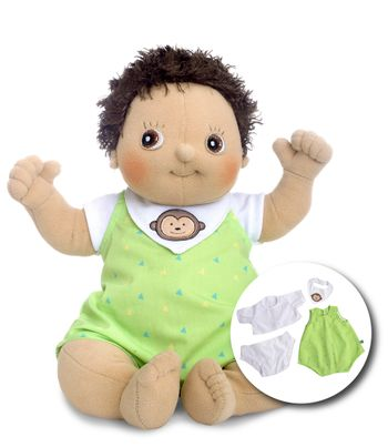 Rubens Barn - Rubens Baby Doll with diaper - Max
