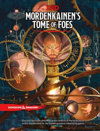Dungeons & Dragons - Role Play - 5th Edition MordenkainenĀ´s Tome of Foes (English)