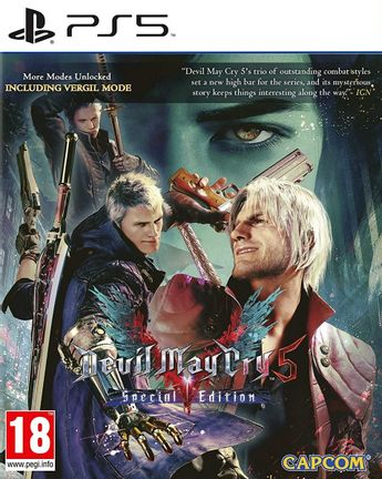 PS5 Devil May Cry 5 Special Edition [USED] (Grade A)