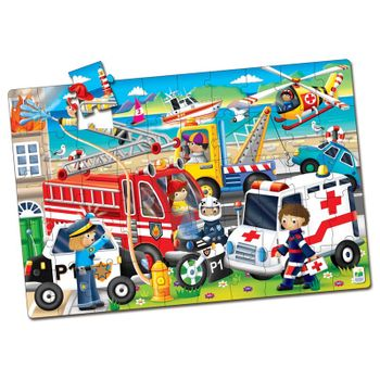 The Learning Journey - Jumbo Floor Puzzles - Emergency Rescue (50 pcs.)