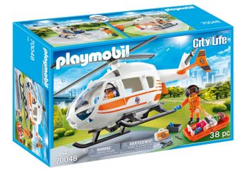 Playmobil - Rescue Helicopter (70048)