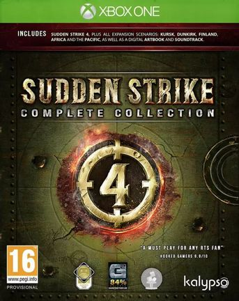 Xbox One Sudden Strike 4: Complete Collection