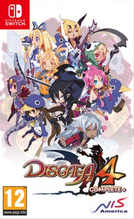 SWITCH Disgaea 4 Complete+ Promise of Sardines Edition