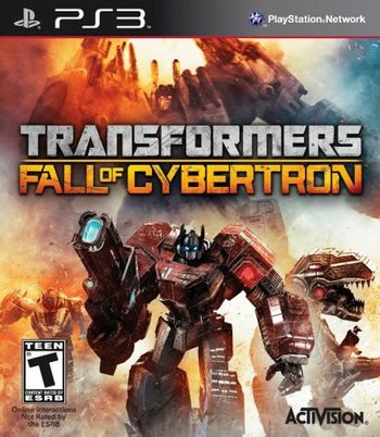 PS3 Transformers: Fall of Cybertron US Version