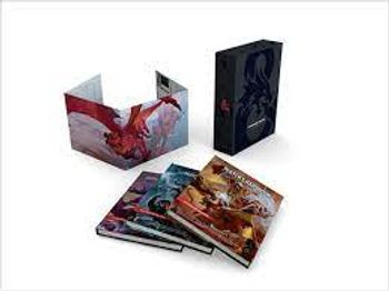 Dungeons & Dragons - 5th Edition Core Rulebook - Gift Set