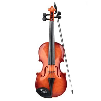 Violin with 4 strings and Bow
