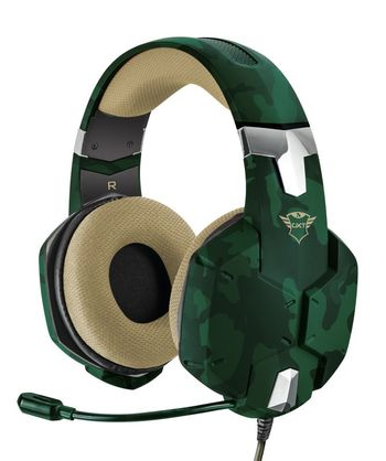 Trust GXT 322C Carus Gaming Headset - Jungle Camo (All Consoles, PC)