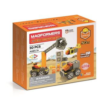 Magformers - Amazing Construction Set, 50 Pieces