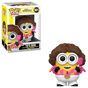 POP! Movies: Minions The Rise of Gru - 70s Bob Vinyl Figure