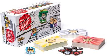 Trial by Trolley - Cyanide and Happiness Card Game (English)
