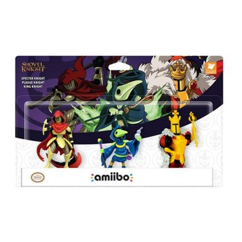Amiibo Shovel Knight - Treasure Trove 3-Pack incl. Specter Knight, Plague Knight and King Kinight