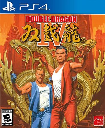 PS4 Double Dragon IV US Version