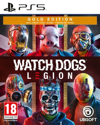 PS5 Watch Dogs Legion Gold Edition incl. Season Pass