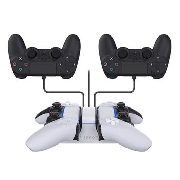 Raptor Dual Charging Station incl. 2 USB Ports (PS4, PS5)
