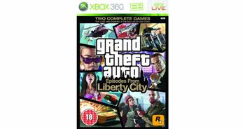 Xbox 360 Grand Theft Auto: Episodes from Liberty City [USED] (Grade A)