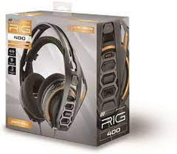Plantronics RIG 400 Dolby Atmos Gaming Headset Wired - Black (PC)
