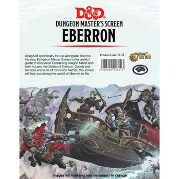 Dungeons & Dragons - 5th Edition - DM Screen Of Ships and the Sea (D&D)