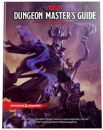 Dungeons & Dragons - Dungeon MasterĀ´s Guide 5th Edition (D&D)