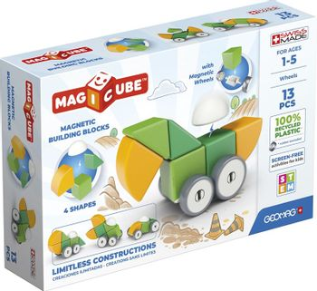 Geomag - Magicube 4 Shapes Recycled Wheels 13