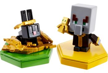 Minecraft - Undying Evoker & Snacking Rabbit, 2-Pack  Mini Figure