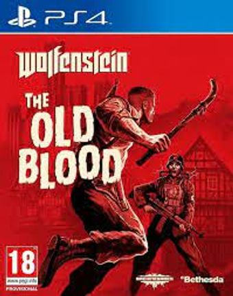 PS4 Wolfenstein: The Old Blood [USED] (Grade B)