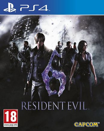 PS4 Resident Evil 6 HD [USED] (Grade C)