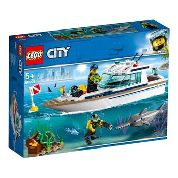LEGO City - Great Vehicles: Diving Yacht (60221)