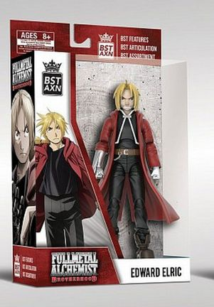 Fullmetal Alchemist: Brotherhood - Edward Elric BST AXN Action Figure, 13cm