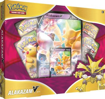 Pokemon Trading Card Game - Alakazam V Box