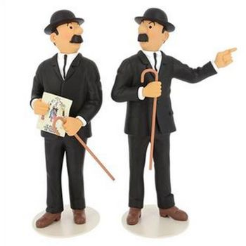 Tintin: Thomson and Thompson Moulinsart Statue, 25cm