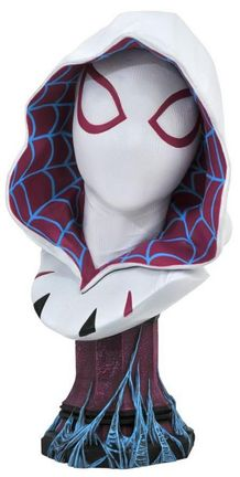 Legends in 3D: Marvel - Spider-Gwen Comic Bust, 1/2 Scale