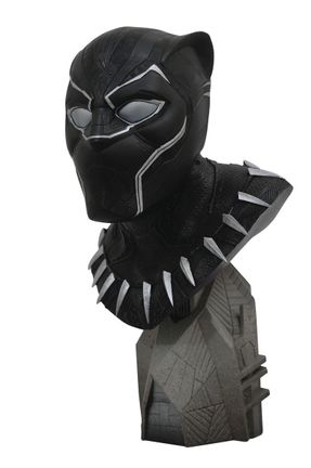 Legends In 3D: Marvel - Avengers 3 Black Panther 1/2 Scale Bust