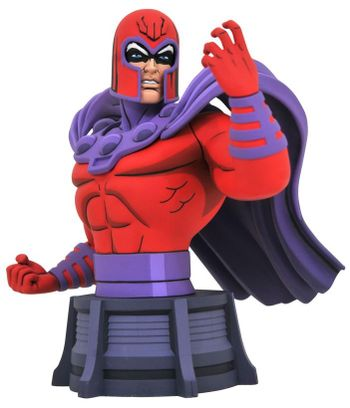 Legends in 3D: Marvel - Animated Magneto Poly Resin Bust