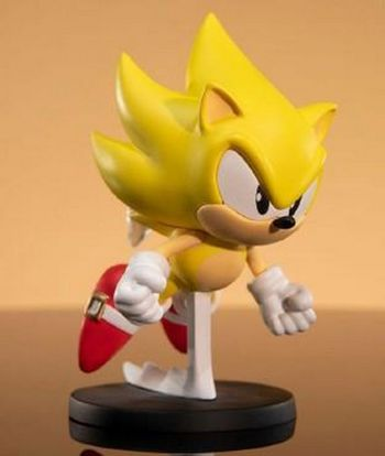 First4Figures: Sonic The Hedgehog - Super Sonic Figure, 8cm