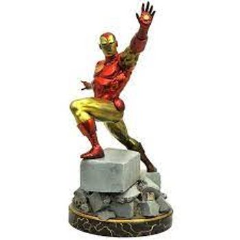 Gallery Diorama: Marvel Premiere Collection - Iron Man Resin Statue