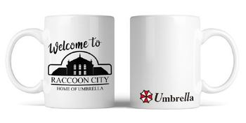 Resident Evil - Welcome to Raccoon Mug