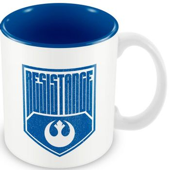 Star Wars - Resistance Logo mug, White/Blue