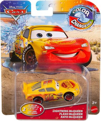 Disney Cars: Color Changers - Lightning McQueen Vehicle