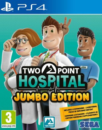 PS4 Two Point Hospital Jumbo Edition