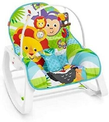 Fisher Price Infant-to-Toddler - Jungle Rocker
