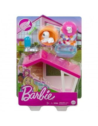 Barbie - Mini Playset With Themed Accessories