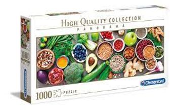 Puzzle High Quality Collection Panorama - Healthy Veggie (1000pcs)
