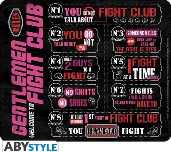 Mouse Pad Fight Club - Fight Club Rules, 235x195mm