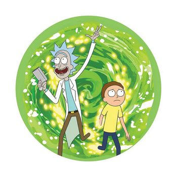 Mouse Pad Rick and Morty - Portal, Flexible 235x195mm